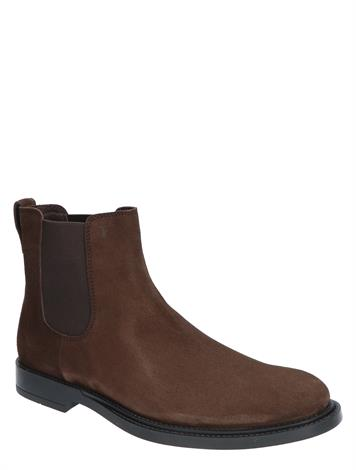 Tod's Chelsea Boot in Suede Brown