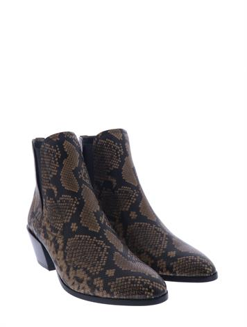 Tod's Chelsea Boots in Python Brown