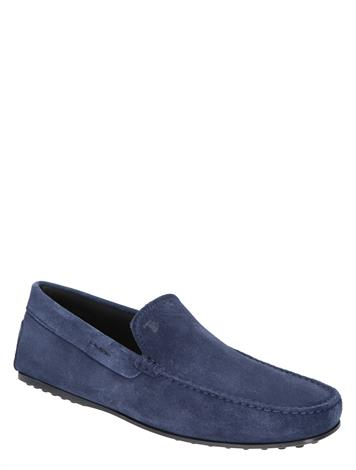 Tod's City Gommino Driving Shoe Blue