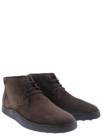 Tod's Desert Boot in Suede Brown