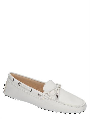 Tod's Gommino Driving Shoe White