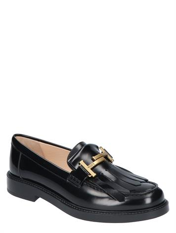 Tod's Loafers in Leather Black