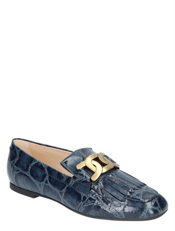 Tod's Loafers in Leather Blue