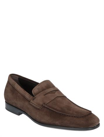 Tod's Loafers in Suede Brown