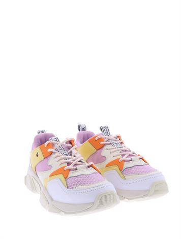 Tommy Hilfiger Chunky Mixed Text Pink Lavender