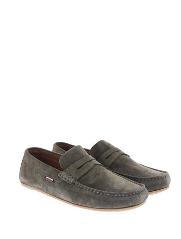 Tommy Hilfiger Classic Suede Loafer Army Green