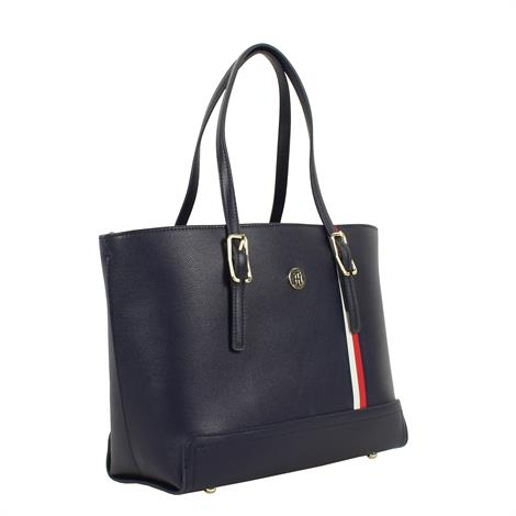Tommy Hilfiger Honey Med Tote Sky Captain