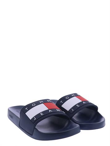 Tommy Hilfiger Tommy Jeans Flag Pool Slide Midnight