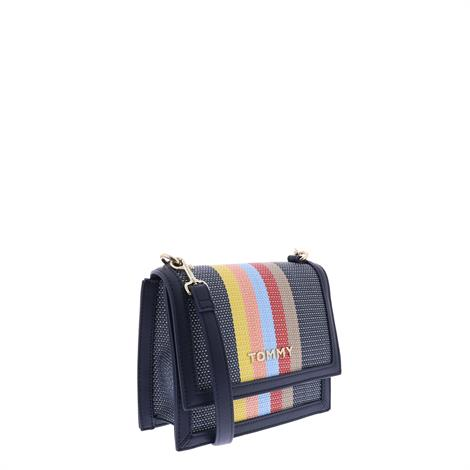 Tommy Hilfiger Tommy Seasonal Crossover Raffia Neutral Mix