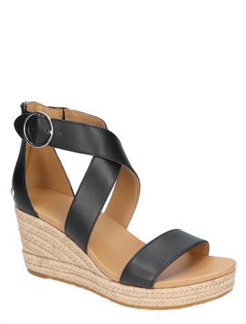UGG Hylda Black Leather