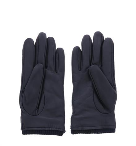 UGG Leather Belted Glove Black