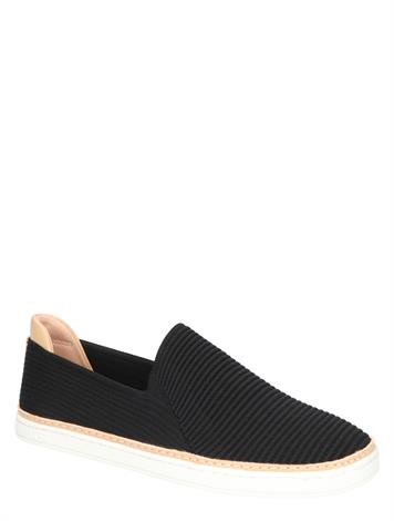 UGG Sammy Black Rib Knit