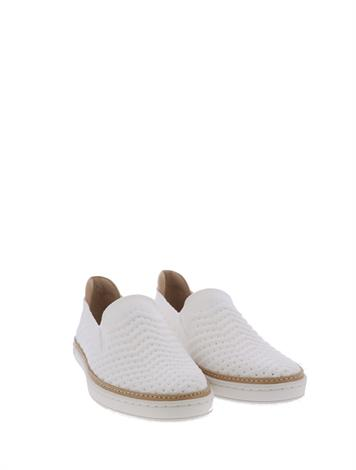 UGG Sammy Chevron White