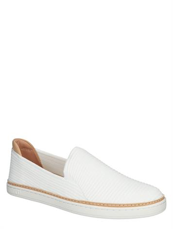 UGG Sammy White Rib Knit