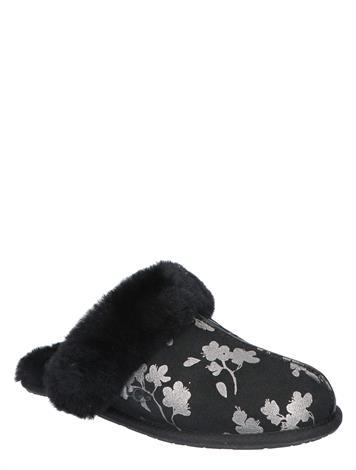 UGG Scuffette II Floral Foil Black