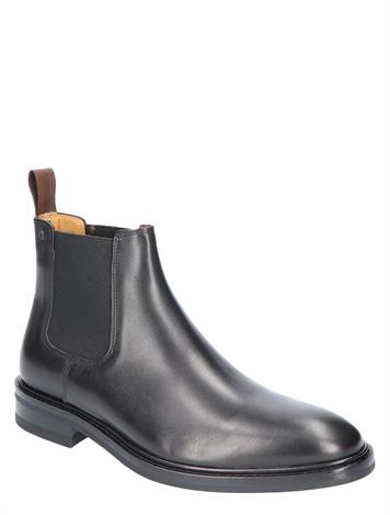 Van Bommel 10196 01 Black Leather G+ Wijdte