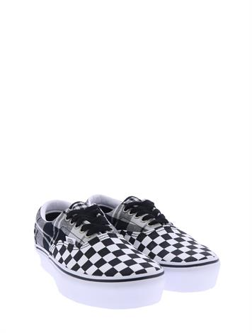 Vans Era Platform Plaid Black