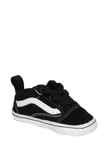 Vans Old Skool Crib Black White
