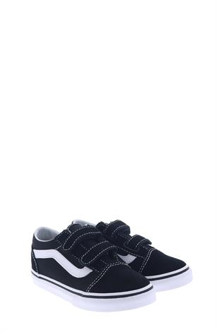 Vans Old Skool Velcro  Black White