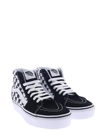 Vans Sk8 Hi Platform Checkerboard True
