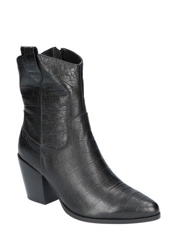 Vivian Ray Linde Black Croco Leather