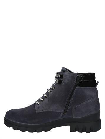 Waldlaufer 780801 Blue Velour Black H- Wijdte