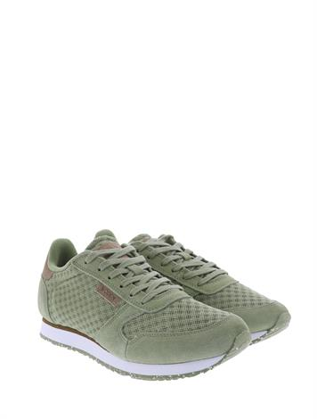 Woden Ydun Suede Mesh Dusty Olive