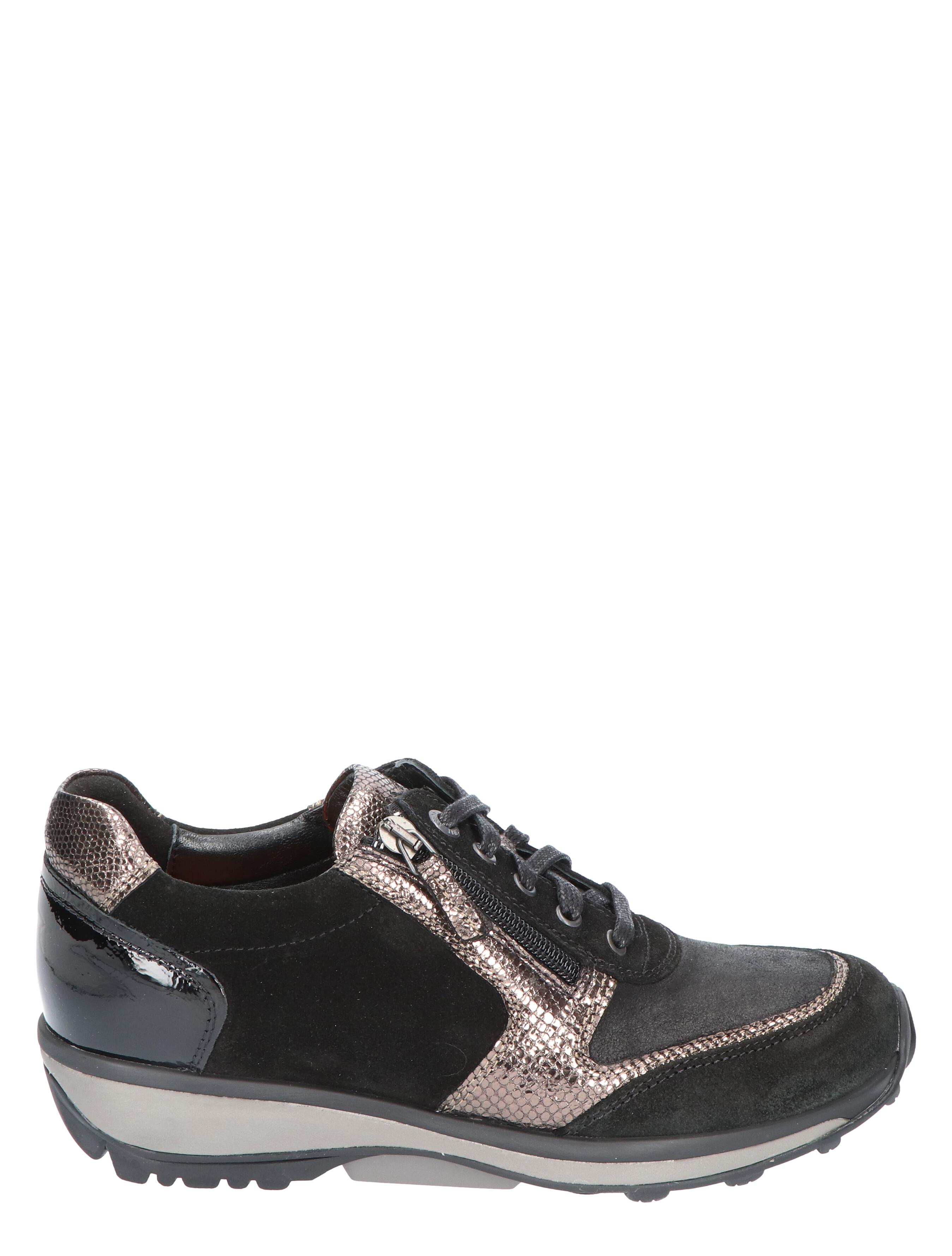 Xsensible 30103.2 Black / Bronze G-Wijdte Veterschoenen